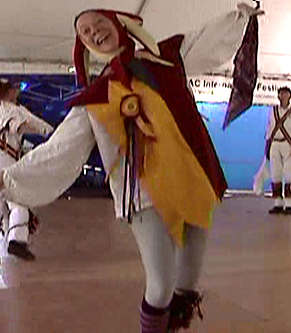 The Maroon Bells Morris Dancers - Our traditional morris dance fool
